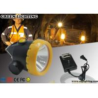 Quality 1W Safety Cree LED Mining Light With 2.2Ah Rechargeable Li - Ion Battery for sale
