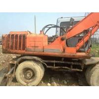Wholesale used hitachi excavator ex160wd wheel excavator for sale EX100WD-2 Used and New Wheeled excavators For Sale from china suppliers
