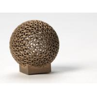 Wholesale Aluminum DMLS 3D printing for Sphere Shape , Golden electroplating from china suppliers