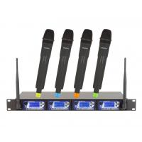 Wholesale Signal-to-Noise Ratio ≥100dB UHF Wireless microphone System Distortion ≤0.05% from china suppliers