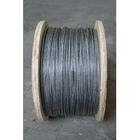 Wholesale 3mm AISI / BS ASTM Wire Rope , 7x19 Galvanized steel wire rope for bridges from china suppliers
