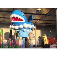 Wholesale Blue Whale Fiberglass Toddler Water Toys Park Spray Holiday Resort from china suppliers