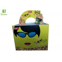 Wholesale Corrugated POP POS Displays / Cardboard Counter Display Boxes With Plastic Clips from china suppliers