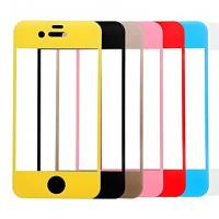 Wholesale For Iphone 6/6 Plus Colored Tempered Glass Screen Protector Full Cover ,OEM/ODM,Wholesale from china suppliers