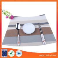 Wholesale PVC Textilene Placemats Dining Table Mat Heat Insulation coasters from china suppliers