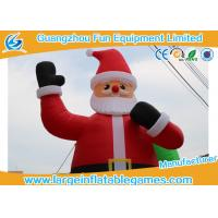 Wholesale 24ft Inflatable Advertising Products  / Christmas Santa Claus Inflatables from china suppliers