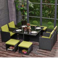 Wholesale Eco friendly Outdoor Rattan Garden Furniture Stool Chair Set for Patio, Outdoor, Garden, Balcony, Hotel, Restaurant from china suppliers