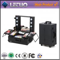 Wholesale wholesale professional makeup cases cosmetic case makeup case with lights from china suppliers
