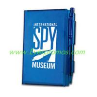 Wholesale Hard Cover Note Pad With Pen from china suppliers