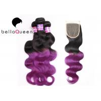 Wholesale 3+1 Bundle 1 Set Ombre Remy Hair Extensions Grade 6A Virgin Hair from china suppliers