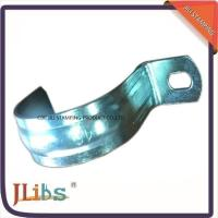 Wholesale Zinc Galvanized Metal Pipe Clips / Carbon Steel Metal Tube Clamps G Clamp Structure from china suppliers
