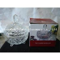 Wholesale glass plate with lid, glass container wholesale from china suppliers