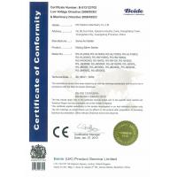 RS Plastics Machinery Co.,Limited Certifications