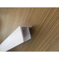 Wholesale Grain PVC Extrusion Profiles Glossy Surface Finish Low Maintenance from china suppliers
