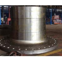 Wholesale CNC machined Turned Turning Machining Milling S235 rolled weld Mining Cement Coal Ball mill cast steel mill heads from china suppliers