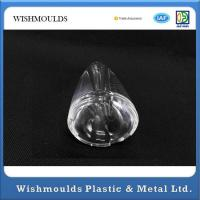 Wholesale Stiff Translucent PMMA Plastic Injection Moulded Components , Plastic Prototype Parts from china suppliers