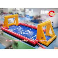 Wholesale 0.55 Mm PVC Big Inflatable Football Field / Air Sealed Inflatable Soap Soccer from china suppliers
