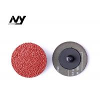 "Quality Aluminiun Oxide Abrasive Sanding Discs Steel Paper 2"" 50MM FA111A Red Color for sale"
