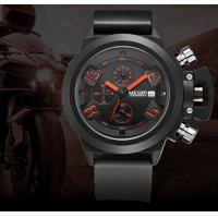 Wholesale MEGIR Multifunction 6 Hands Silicone Band Chronograph Fahion Calendar Sport Wrist Watches  2002G from china suppliers