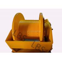 Wholesale Hydraulic Brake Hoist Winch 140KN With Lebus Grooving For Offshore Ship / Construction Lifting from china suppliers