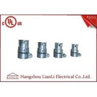 Wholesale EMT TO Flexible Conduit Connector Zamak Set Screw Connector Customized from china suppliers