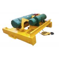 Wholesale Heavy Duty Crane Lifting Mechanism Electric Hoist Trolley For Double Beam Crane from china suppliers