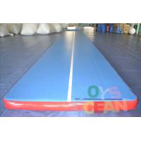 Wholesale Inflatable Durable Yoga Tumbling Mats / Gymnastics Air Track For Gym Practice Equipment from china suppliers