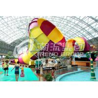 Wholesale Small Fiberglass Pool Slides 30x20m Tornado Water Slide For Water Playground in Water Park from china suppliers