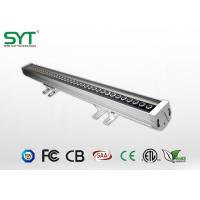 Wholesale Single Color Outdoor Led Sign Lighting , Led Wall Washer Ip65 Light Aluminum Housing from china suppliers