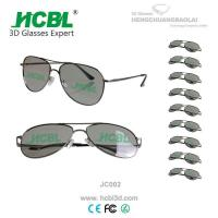 Wholesale 0.72mm TAC Lens Polarized Glasses 3D Eyewear With Metal Frame from china suppliers