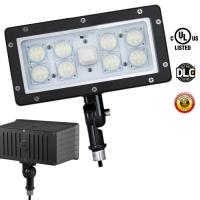 Wholesale LED Security Floodlight 5000K Outdoor LED Flood Light Cool White Photocell 70 Watt from china suppliers