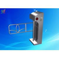 Wholesale Bar Cord Security Mechanism Swing Barrier Gate Pedestrian Turnstiles RFID Reader from china suppliers