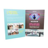 Quality promotional activities video invitation card with upload video / music for sale