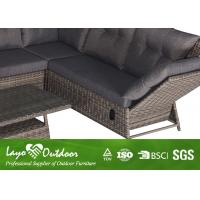 Adjustable Corner Sofa Patio Seating Sets Moisture Proof Outdoor Balcony Furniture