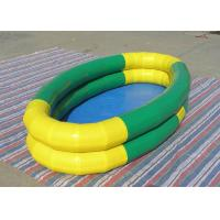 Wholesale 0.9mm PVC Tarpaulin Customized Size inflatable water Pool for kids from china suppliers
