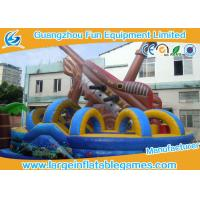 Quality Pirate Large Inflatable Games Inflatable Fun City Water Park For Outdoor Events for sale