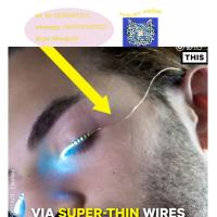 Wholesale Colour interactive Changing LED Eyelashes For dance from china suppliers