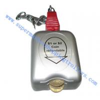 Quality Zinc Alloy Shopping Cart Spare Parts Supermarket Shopping Trolley Lock for sale