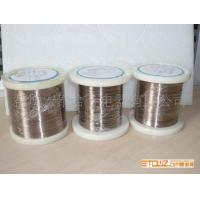 Wholesale 6J12 low resistance coefficient manganin alloy Constantan Wire for heating purpose from china suppliers