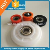 Quality Plastic Wheel bearing door and window rollers for sale