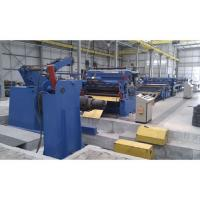 Wholesale High Precision Cut To Length Line Metal Sheet Cutting Machine / Sheet Metal Slitter Machine from china suppliers