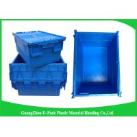 Wholesale Industrial 50kgs Security Plastic Attach Lid Containers / plastic storage bins with lids from china suppliers