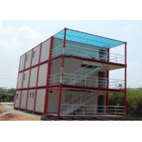 Wholesale Multiple Function Prefab Flat Pack Containers Temporary Home / Office Portable House Units from china suppliers