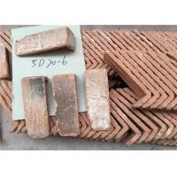 Buy cheap Culture Surface Clay Brick Tiles , Quoined Brick Corners For Indoor / Outdoor Wall from wholesalers