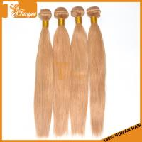 Wholesale 5A Honey Blonde Brazilian Hair Weave Straight Blonde Human Hair Weave from china suppliers