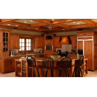 Wholesale New model kitchen cabinet, teak wood kitchen cabinet from china suppliers
