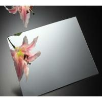 Wholesale Waterproof Mirror Glass Panel with silver / aluminum coated 1.1mm - 8mm from china suppliers