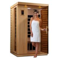 Wholesale Carbon Heater Portable Sauna Room Transom Windows With 1 People Capacity from china suppliers