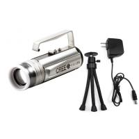 Wholesale Rechareable 8 Watt Aluminium LED Fishing Lights for hiking / searching from china suppliers
