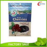 Wholesale Dried Healthy Gouji Berries packaging Pouch , Bottom Gusset Ziplock Bags from china suppliers
